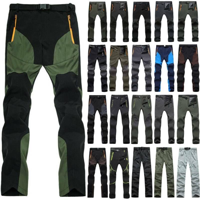 Men Cargo Sport Tactical Long Pants Outdoor Hiking Climbing