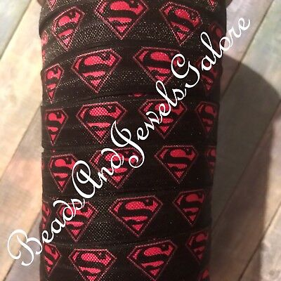 Superhero foe inspired superhero elastic superhero hair ties girl superhero-5/8