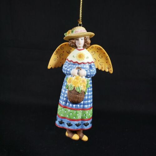 Lang & Wise Susan Winget 1999 Radiance Country Angel Christmas Ornament 1st Ed
