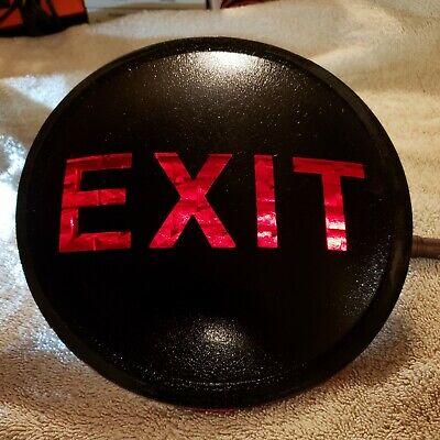 Exit Sign 8 Inch Lens For Railroad Traffic Light Housings Or Custom