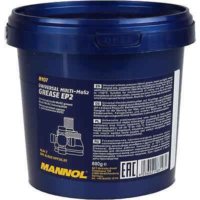 800g Original MANNOL Universalfett 8107 EP-2 Multi-MoS2 Grease