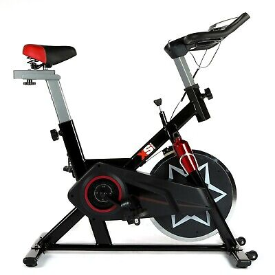 XS Sports SB300 Aerobic Indoor Studio Bike-Training Fitness-With tablet holder
