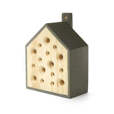 Kikkerland Little Bee Home Solitary Bees Keeping 13cm Hanging Nest Hotel Box