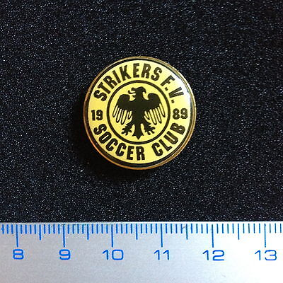 US Pin Strikers Soccer Club Fox Valley Illinois Badge Rare Lovely Lapel.
