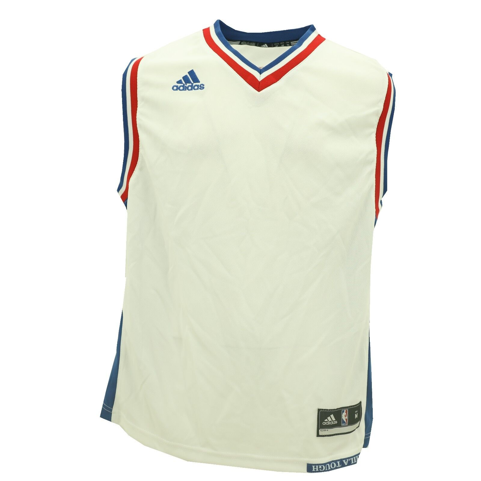 Details about New Philadelphia 76ers Kids Youth Size Adidas Official NBA  Blank Jersey New 8f907f68f