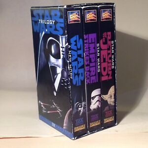 Star Wars Trilogy Digitally Mastered Edition VHS Tapes