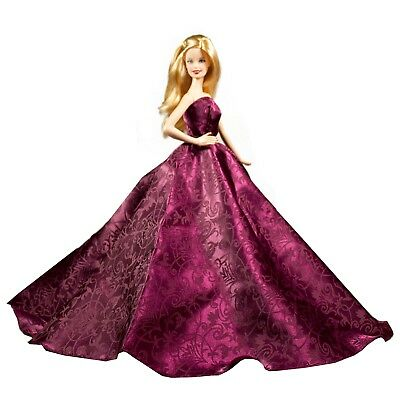 Barbie Strapless Gown - Barbie Prom Red Wine Strapless Layered Wedding Party Ball Gown Scarlet Red