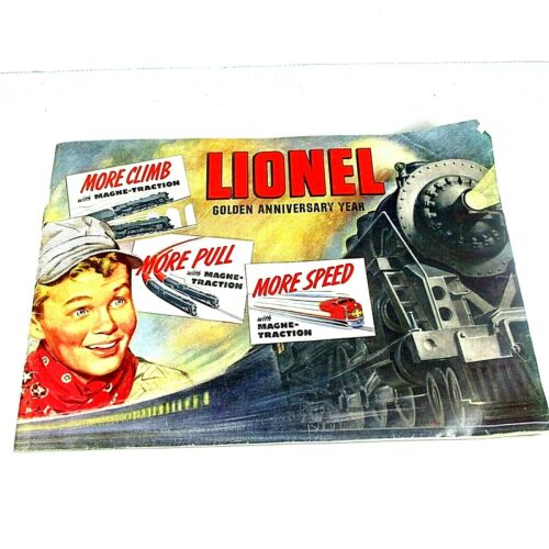 1950 Lionel Golden Anniversary Dealership Catalog Book - 43 Colorized Pages