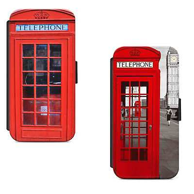 Red Samsung Telephone - Vintage Red London Telephone Box Retro Flip Phone Case Cover iPhone Samsung