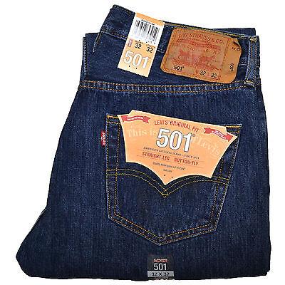 Levis 501 Mens Jeans Stonewashed W30 W32 W34 W36 W38 +