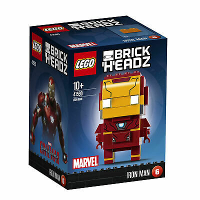 Lego Brick Headz Marvel 41590 Iron Man - New/Boxed
