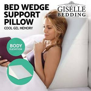 Memory Foam Bed Wedge Pillow Cushion Neck Back Support Home Sleep Melbourne CBD Melbourne City Preview