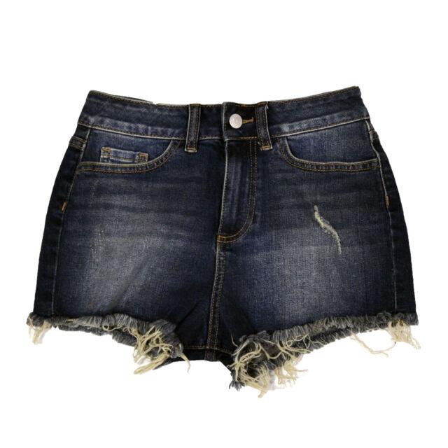Victoria's Secret High Waisted Shorts Cut off Denim Jean ...