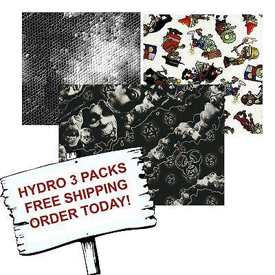 Hydro Dip Hydrographic Film Water Transfer Printing Film Hydro Dip Zombie 3 Pack
