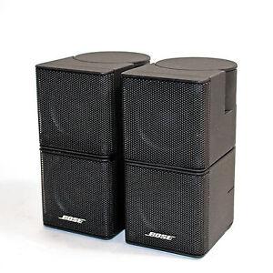 2x bose jewel cubes kleine premium lautsprecher surround satelliten speaker ebay. Black Bedroom Furniture Sets. Home Design Ideas