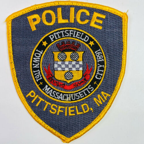 Pittsfield Police Berkshire County Massachusetts MA Patch A3I