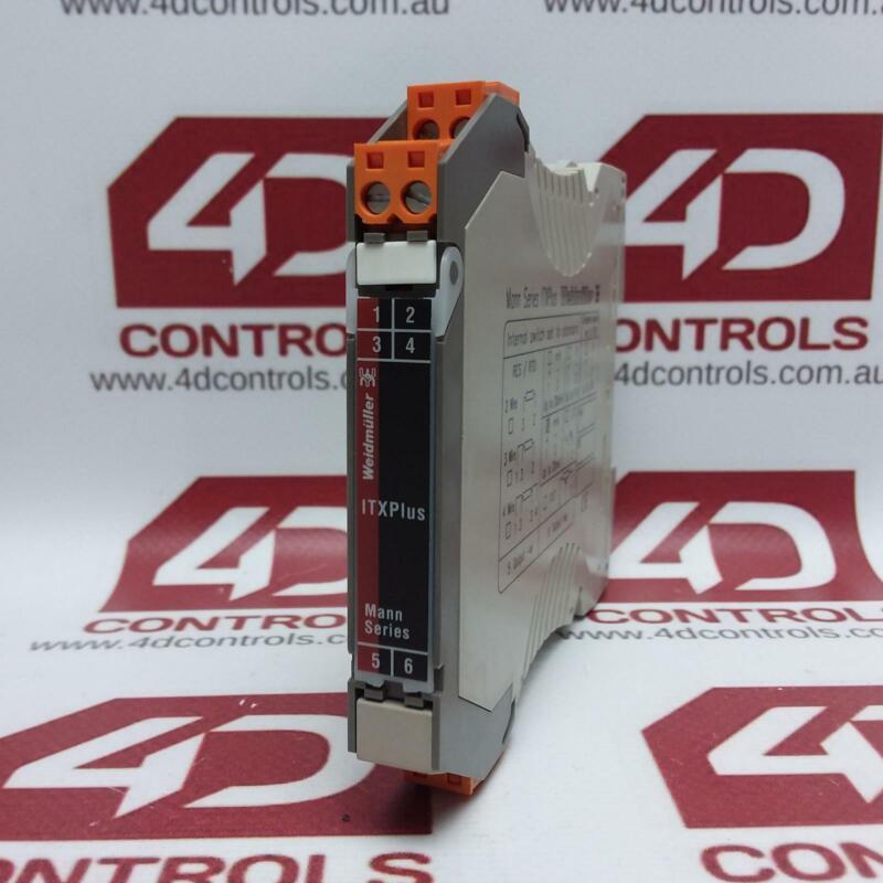 ITX+4-20MA/4-20MA   Weidmuller   Signal Isolator ITX+/RTD/PT100, Used
