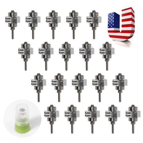 20 x Dental Turbine Cartridge Rotor For Big head LED E-generator Fiber Handpiece