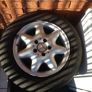 MERCEDES GENUINE RIMS AND TYRES Blacktown Blacktown Area Preview