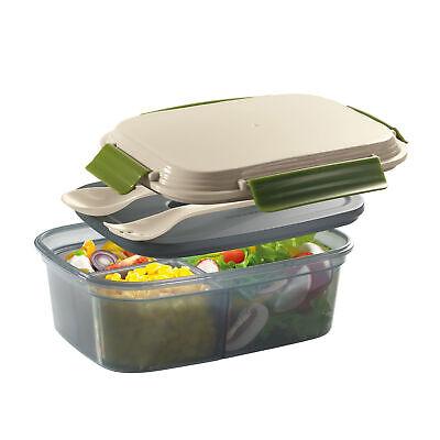 CILIO Lunchbox COOL mit 2 Einsätzen und herausnehmbarem Kühlakku 1,25 Liter
