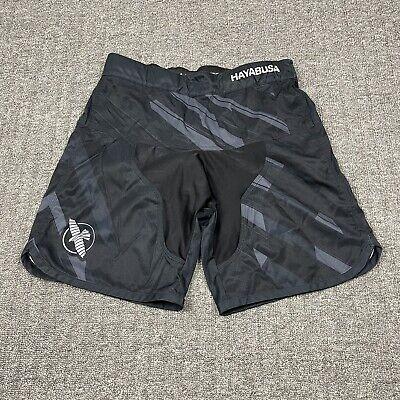 Hayabusa MMA Boxing Kickboxing Jiu Jitsu Training Shorts Size 34 EUC