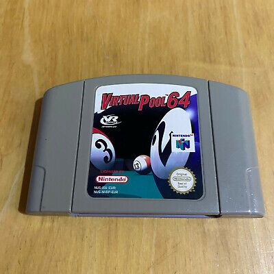 N64 Nintendo 64 Game - Virtual Pool 64