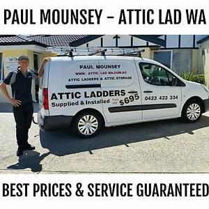 Paul Mounsey Attic Ladders & Attic Storage Perth Mullaloo Joondalup Area Preview