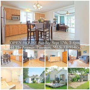 Open house Sunday 17 sept, 61 22e Ave, Pincourt