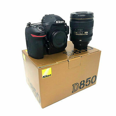 Brand new Nikon D850 and 24-120mm F4 VR Lens