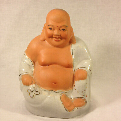 Vintage Chinese Prosperity Laughing Buddha 7