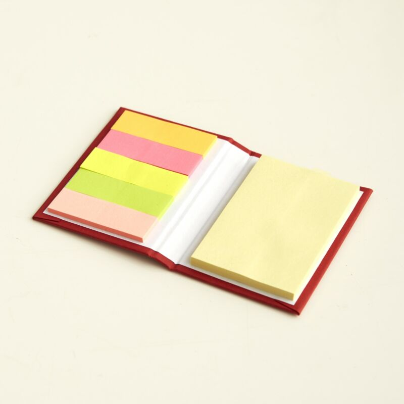 Sticky Note Pads with Large Size and Page Flag Sheets - Set of 8
