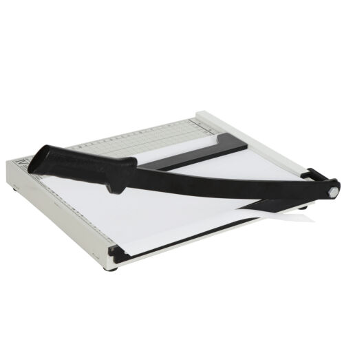 12″ Heavy Duty Paper Cutter Commercial Metal-Base A4 Trimmer Paper Cutter Bindery & Finishing Equipment