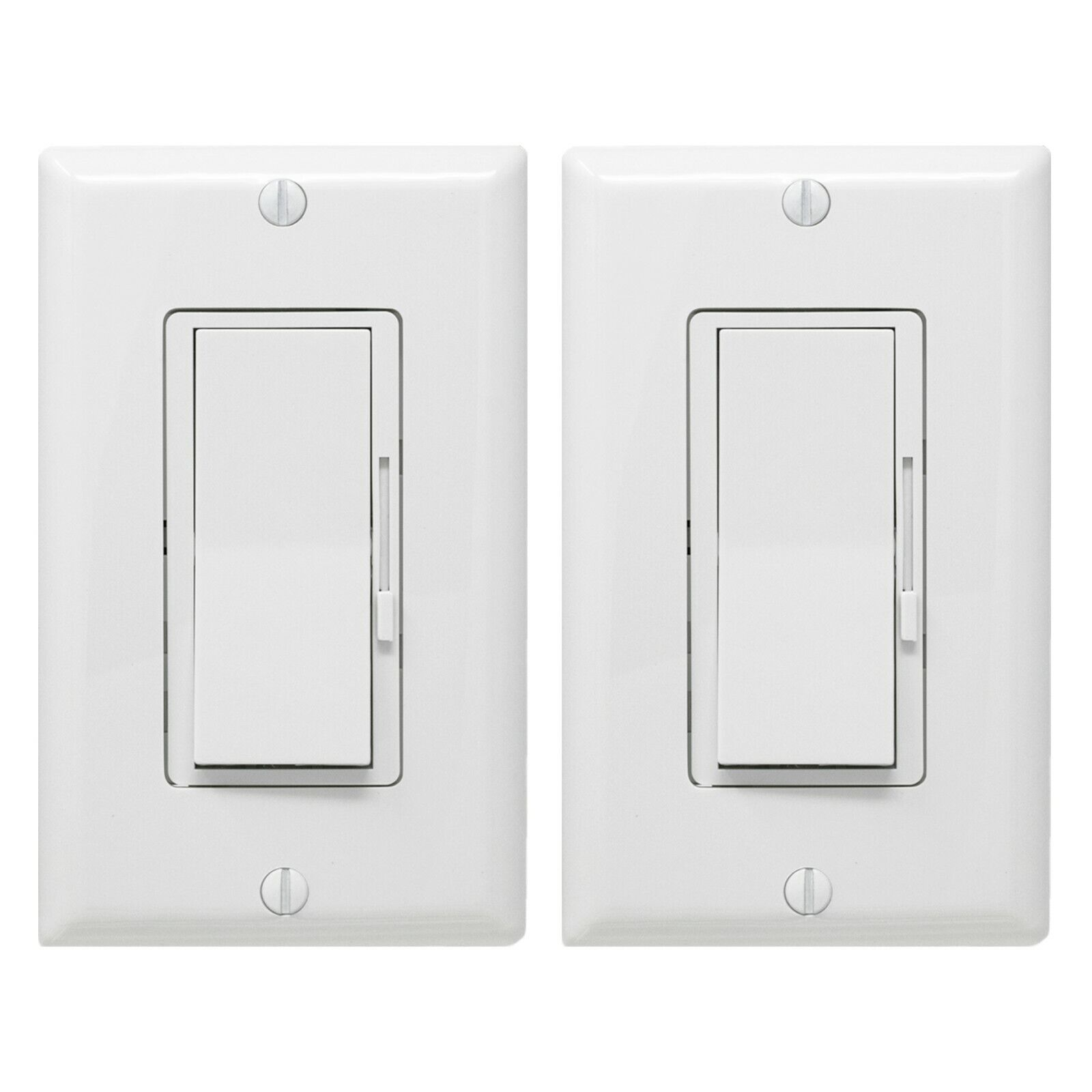 Dimmer Light Switch- Single Pole or 3-Way for LED /Incandes
