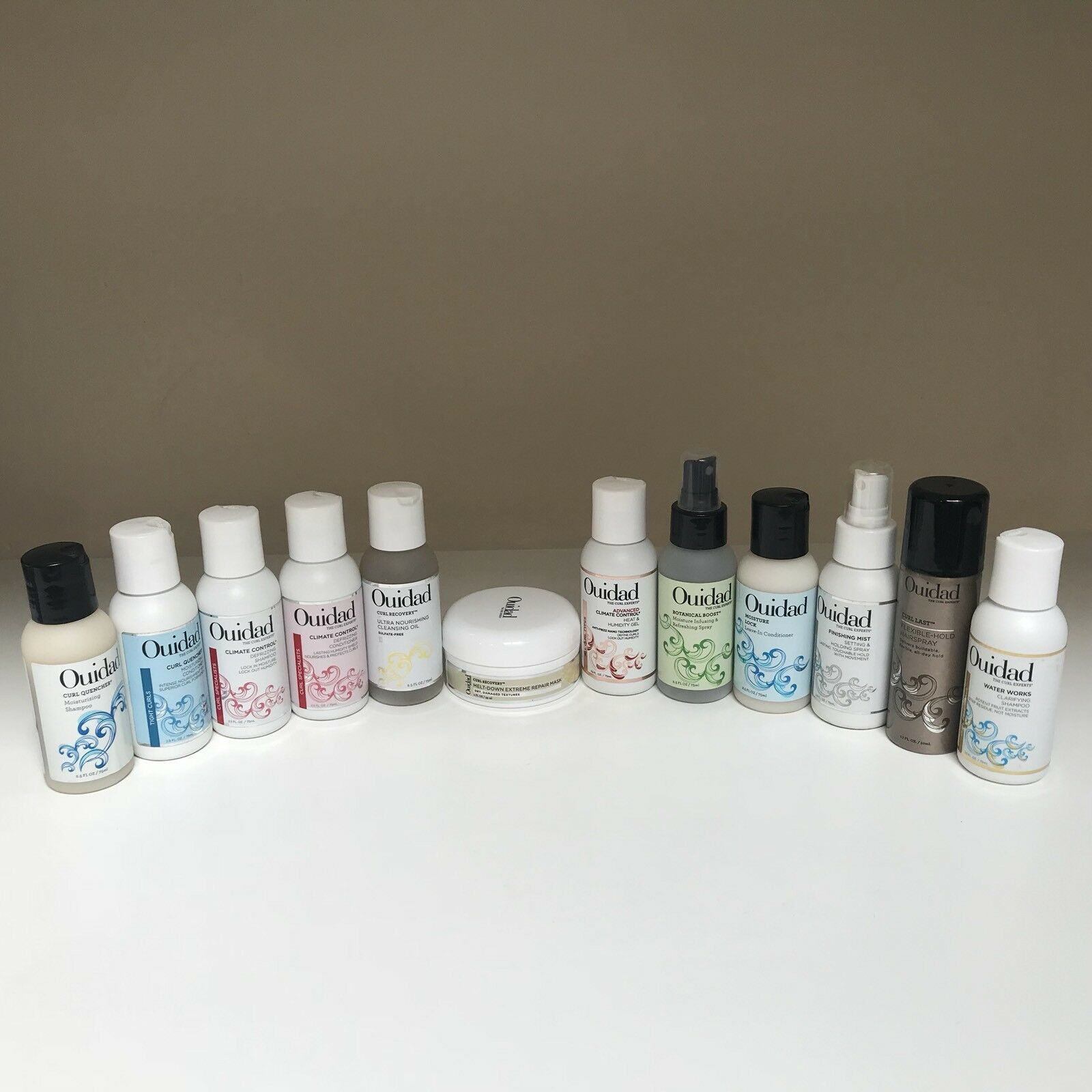 Ouidad Travel Size-You Choose!-Curl Last, Climate Control, M