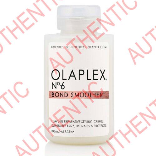Brand New Olaplex No.6 Bond Smoother 3.3 oz 100 ml. Hair & Scalp Treatment