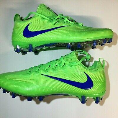 green football cleats
