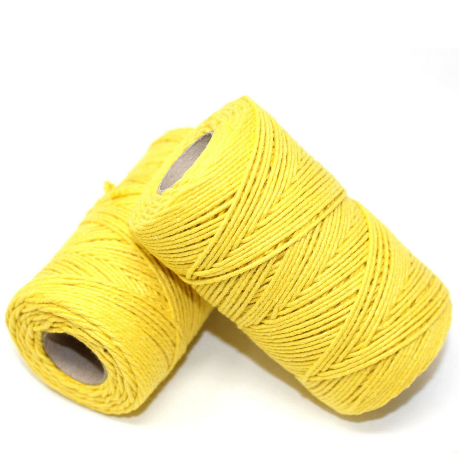 SOLID YELLOW BAKERS TWINE 2mm 2 PLY EASTER CRAFT TWINE STRING CORD WRAP