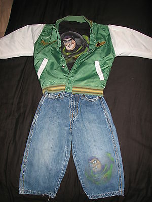 Buzz Light Year Outfit (~The Disney Store Buzz Lightyear Jacket Jeans & T-shirt Outfit Sz.XXS/3~ So)