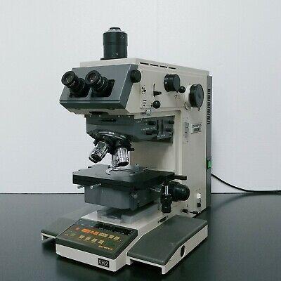 Olympus Microscope Vanox-t Ah-2 Reflected Light With Dic Metallurgical