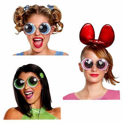 Powerpuff Girls Glasses (Cartoon Network Powerpuff Girls Animated Glasses (3 Pack, 1 of Each))