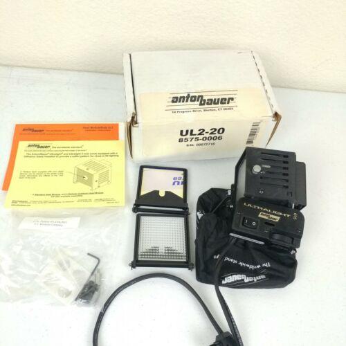 Anton Bauer Ultralight 2 Camera Video Light w/ Attachments Filters