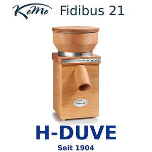 Komo Fidibus 21 Getreidemühle 250 Watt Buchenholz Kornmühle