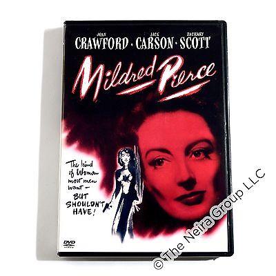 Mildred Pierce Dvd New Joan Crawford Jack Carson Zachary Scott Eve Arden