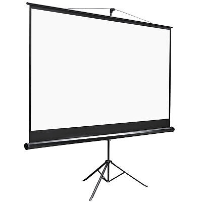 Projector Screen With Stand 100 Inch 169 Hd 4k Outdoor Indoor Projection Screen