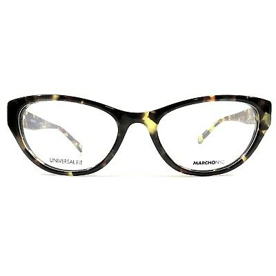 New MARCHON NYC Downtown Montgomery Eyeglasses RX Frame 215 Tortoise 52-18-140