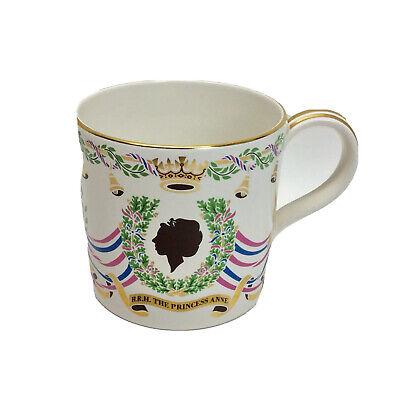 Wedgwood - Royal Commemorative Mug - Princess Anne & Mark Phillips - 1973