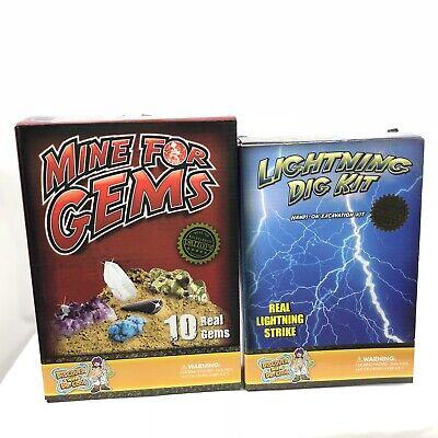Mine For Gems Lightning Dig Kit Lot Dr Toys Excavate Gems Mine In - Dig For Gems