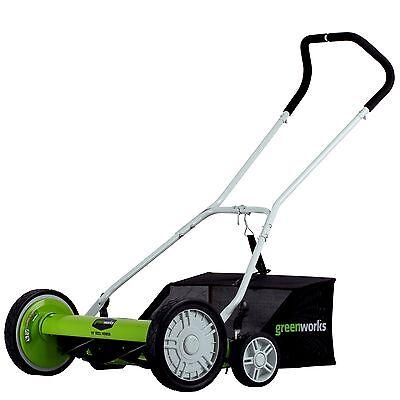 GreenWorks 25072 20-Inch Push Reel Mower