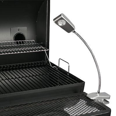 LED Grilllampe Grilllicht Grillleuchte Schwanenhals 30 cm 9 LEDs Klemmleuchte