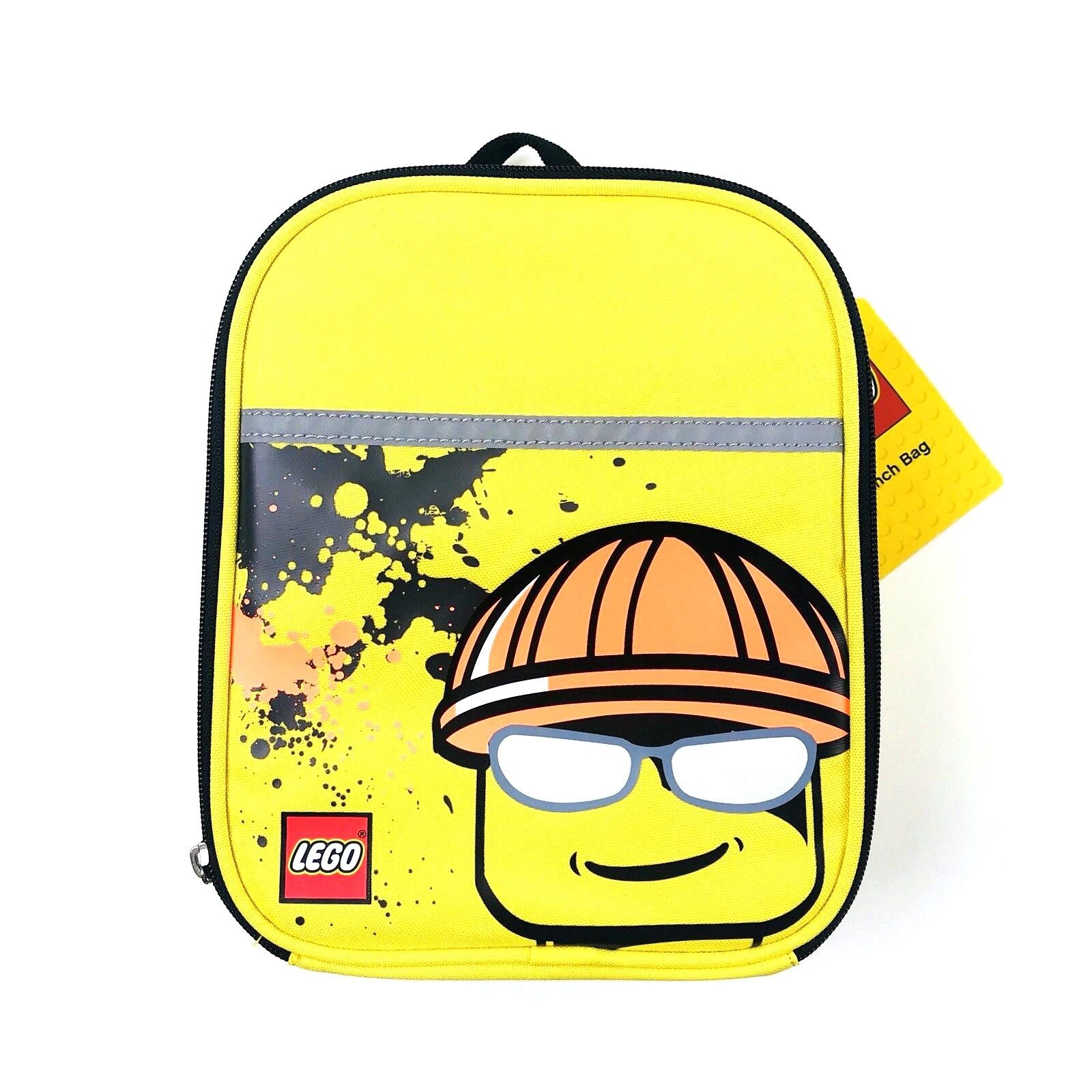 yellow lunch bag tote carry gear insulated